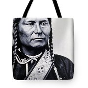 Chief Joseph Nez Perce Leader Tote Bag