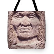 Chief-kicking-bird Tote Bag
