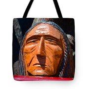 Chief Looking Tote Bag