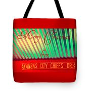 Chiefs Christmas Tote Bag