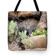 Chihuahuan  Desert Cacti Tote Bag