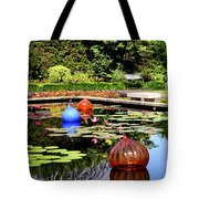 Chihuly Ball Lily Pond Tote Bag