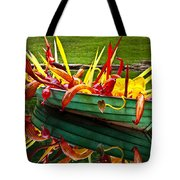 Chihuly Boat Tote Bag by Diana Powell
