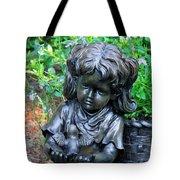 Child And Dove Tote Bag