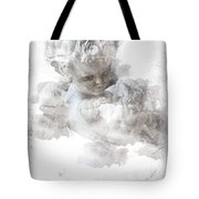 Child Cherub Tote Bag