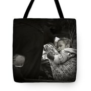 Child  On A Journey Tote Bag