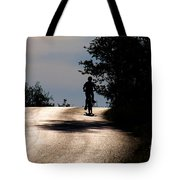 Child On Bicycle, Italy Tote Bag