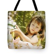 Child Waters Flowers Tote Bag