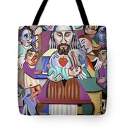 Childern A Gift From God Tote Bag by Anthony Falbo