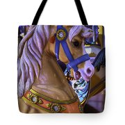 Childhood Carrousel Ride Tote Bag