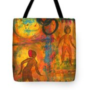 Childhood Friends - I Remember You Tote Bag