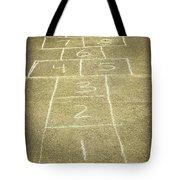 Childhood Games Tote Bag by Fran Riley