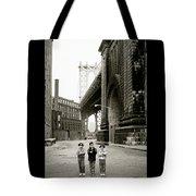 A New York Childhood Tote Bag