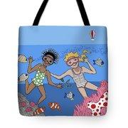 Children 3 Tote Bag