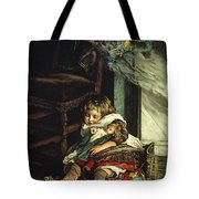 Children Dreaming Of Toys Tote Bag