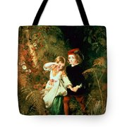 Children In The Wood Tote Bag