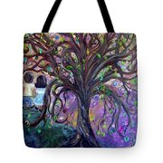 Children Under The Fantasy Tree With Jackie Joyner-kersee Tote Bag
