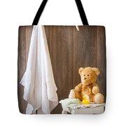 Childrens Bathroom Tote Bag