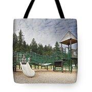 Childrens Playground At Lake Merwin Park Tote Bag