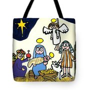 Children's School Nativity Play Tote Bag