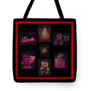 Children's Toys In Lights Poster 2 Tote Bag