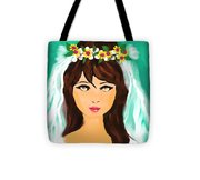 Child's Play Tote Bag by Hilda Lechuga