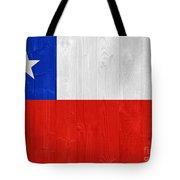 Chile Flag Tote Bag