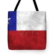 Chile Flag Tote Bag
