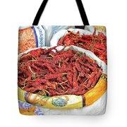 Chili At The Market Tote Bag