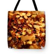 Chili Pepper Flakes Tote Bag