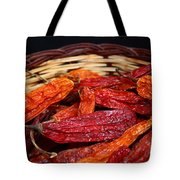 Chilis In A Basket Tote Bag