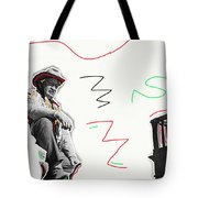 Chill Wills The Alamo Homage 1960 Tote Bag