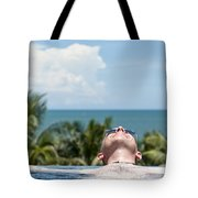 Chilled In Paradise Tote Bag