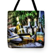 Chillin' Whites Tote Bag