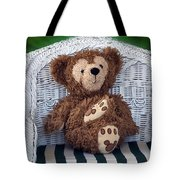 Chilling Bear Tote Bag