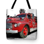 Chilliwack Fire- Mercury Firetruck Tote Bag