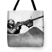 Chilly Army Air Corp Plane Tote Bag