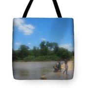 Chilonga Bridge Tote Bag