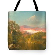 Chimborazo Tote Bag by Frederic Edwin Church