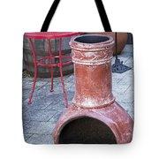 Chiminea Tote Bag