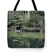 Chimes Tower Reflection Tote Bag