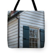 Chimney And Shutters Tote Bag