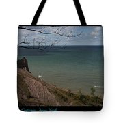 Chimney Bluffs Lake Ontario New York Tote Bag