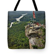 Chimney Rock Overlook Tote Bag