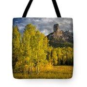 Chimney Rock San Juan Nf Colorado Img 9722 Tote Bag