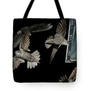 Chimney Swifts Tote Bag