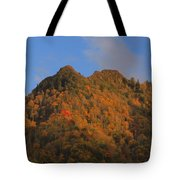 Chimney Tops In Smoky Mountains Tote Bag