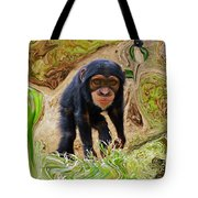 Chimpanzee Tote Bag by Daniele Smith