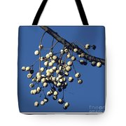 China Berry Cluster Tote Bag
