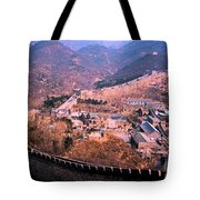China Great Wall Adventure By Jrr Tote Bag